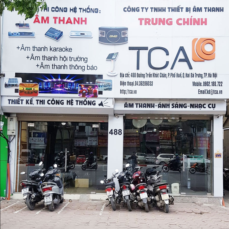 TCA TRUNG CHINH AUDIO